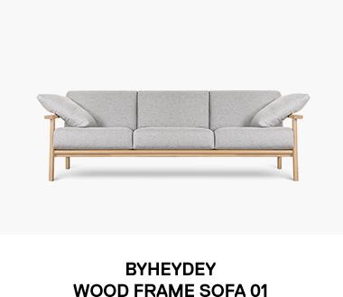 WOOD FRAME SOFA 01