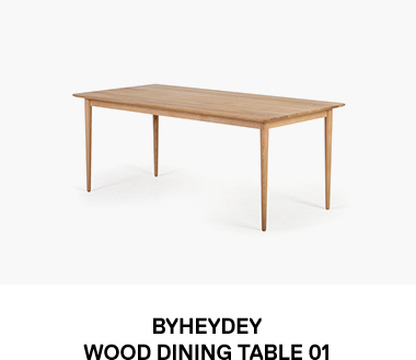 Wood DiningTable 01