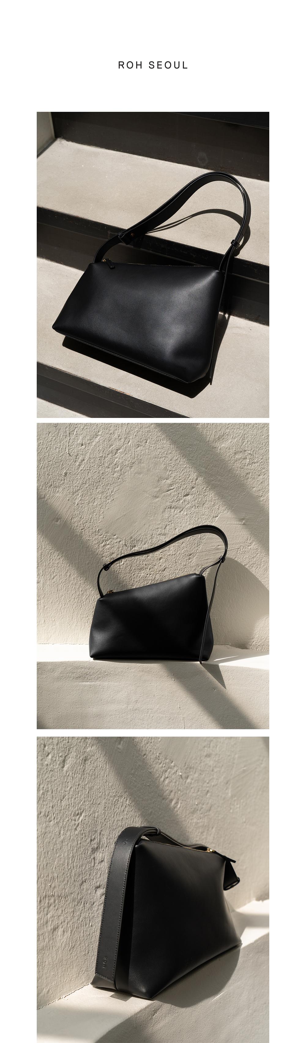 로서울(ROH SEOUL) Rowie leather shoulder bag Black